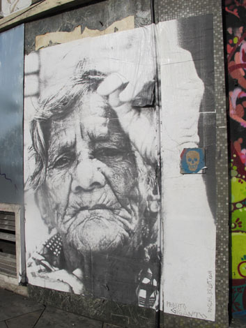 Rivington street old lady