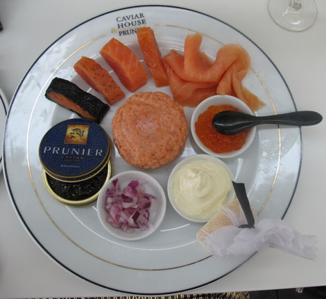 Heathrow caviar house