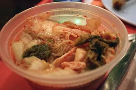 Crisp kimchee