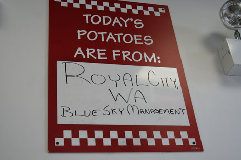 Five guys potatoes