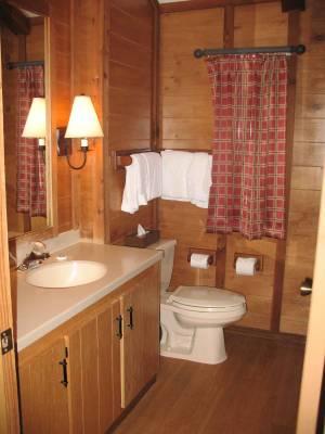 Fort Wilderness Cabin Bathroom PassPorter Photos
