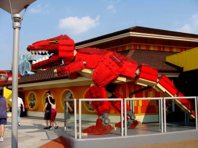 lego store in downtown