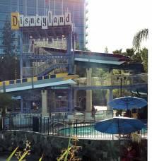 Disneyland Hotel Monorail Slide