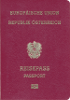 Passport cover of Austria