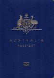 Passport cover of Australia