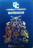 Passport cover of Barbados