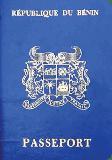 Passport cover of Benin