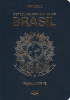 Passport cover of Brazil MOST POWERFUL PASSPORT RANK
