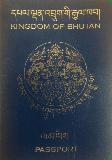 Passport cover of Bhutan