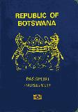 Passport cover of Botswana
