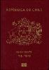Passport cover of Chile MOST POWERFUL PASSPORT RANK