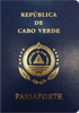 Passport cover of Cape Verde