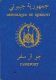 Passport cover of Djibouti