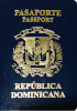 Passport cover of Dominican Republic