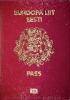 Passport cover of Estonia MOST POWERFUL PASSPORT RANK