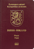Passport cover of Finland MOST POWERFUL PASSPORT RANK