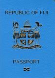 Passport cover of Fiji