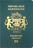 Passport cover of Gabon