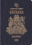 Passport cover of Grenada