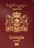 Passport cover of Georgia
