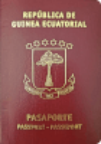 Passport cover of Equatorial Guinea