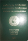 Passport cover of Guinea-Bissau