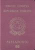 Passport cover of Italy MOST POWERFUL PASSPORT RANK