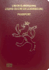 Passport cover of Luxembourg
