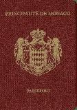 Passport cover of Monaco