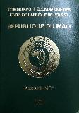 Passport cover of Mali