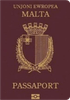 Passport cover of Malta