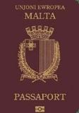 Passport cover of Malta