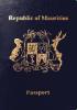 Passport cover of Mauritius MOST POWERFUL PASSPORT RANK