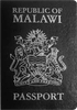 Passport cover of Malawi