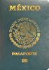 Passport cover of Mexico