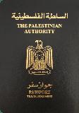 Passport cover of Palestinian Territories