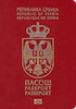 Passport cover of Serbia