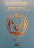 Passport cover of Rwanda
