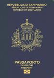Passport cover of San Marino