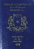 Passport cover of Somalia