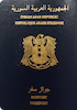 Passport cover of Syria