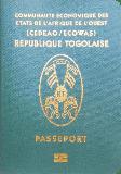 Passport cover of Togo