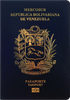 Passport cover of Venezuela  MOST POWERFUL PASSPORT RANK