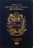 Passport cover of Venezuela