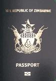 Passport cover of Zimbabwe