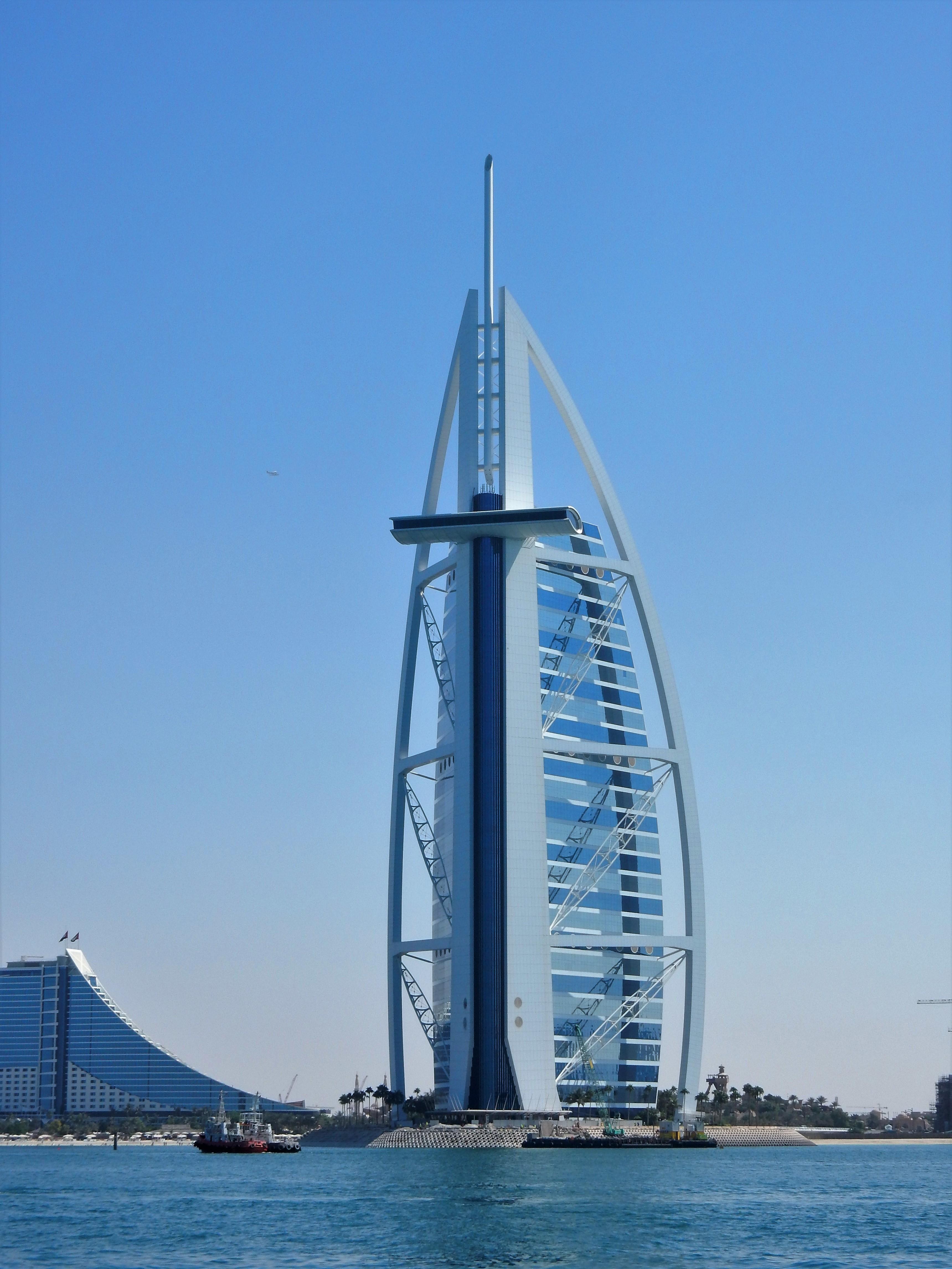 Recap of united arab emirates passport penguin for Sailboat hotel dubai