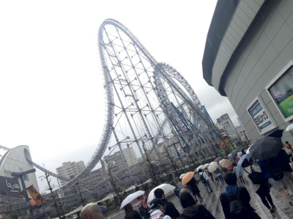 Tokyo Dome and rollercoaster