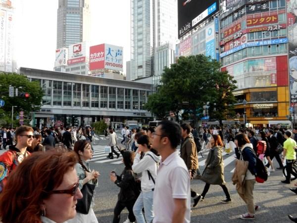 9 Shibuya Pedestrian Crossing
