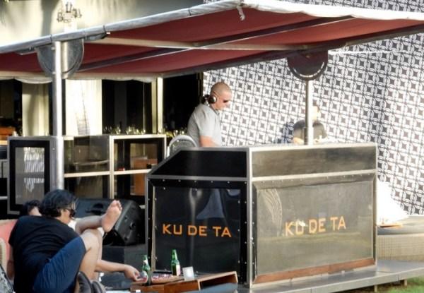 Ku De Ta DJ booth
