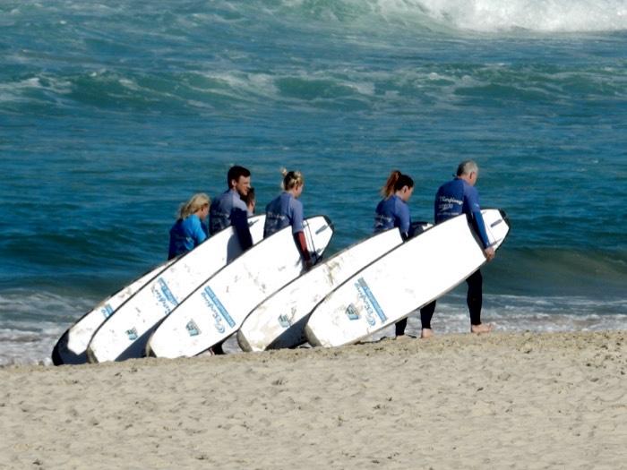 Surfing Aussie